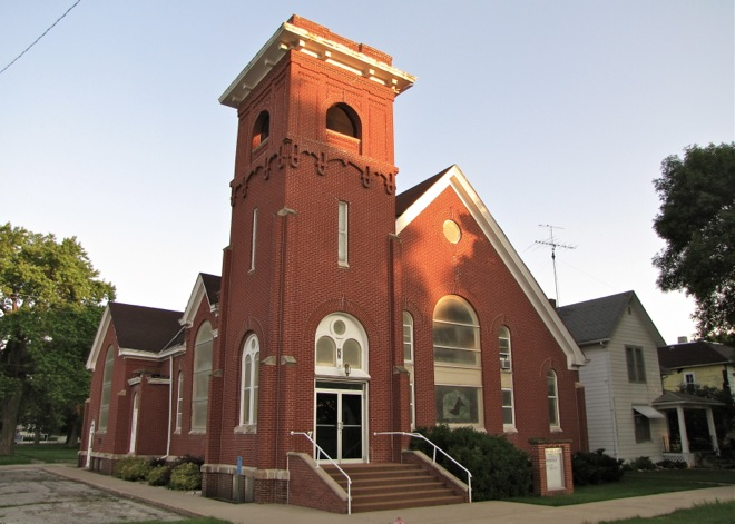 United Church of Christ in Fonda, Iowa